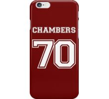 Justin Chambers '70 iPhone Case/Skin