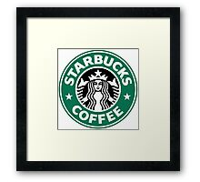 Starbucks Coffee Framed Print