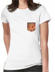 The Pasta Pocket - funny Womens Fitted T-Shirt