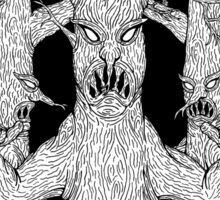 Denizens of the Diabolic Wood Sticker