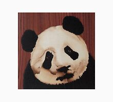 Cute panda wooden marquetry picture Classic T-Shirt
