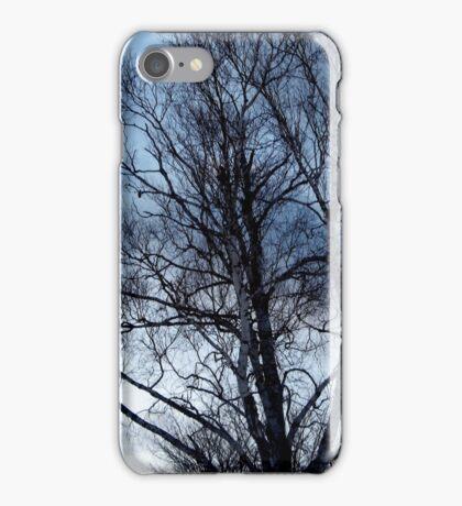Eerie tree iPhone Case/Skin