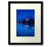 I wish I had webbed feet @londonlights Framed Print