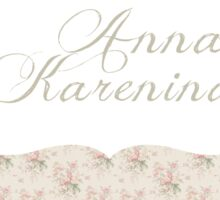 Anna Karenina Sticker