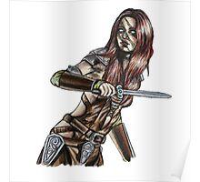 The Elder Scrolls- Skyrim- Aela The Huntress Poster