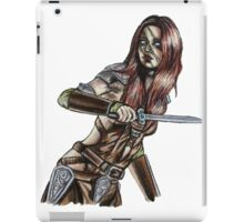 The Elder Scrolls- Skyrim- Aela The Huntress iPad Case/Skin