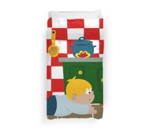 Creppy-Crawly Friend Duvet Cover