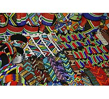 Scenes from an african market Photographic Print