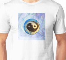 Yin Yang - Chinese Symbol in Ink and Pigments Unisex T-Shirt