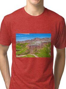 Winding Dry River Tri-blend T-Shirt