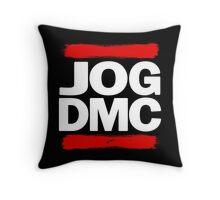 JOG DMC white Throw Pillow