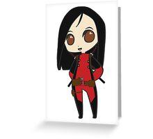 Superhero Princess Greeting Card