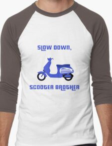 Scooter Brother Men's Baseball ¾ T-Shirt