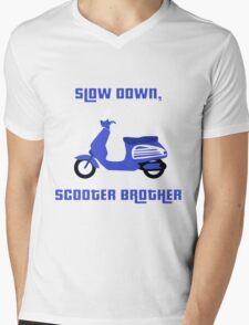 Scooter Brother Mens V-Neck T-Shirt