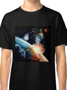 Tardis in space Classic T-Shirt
