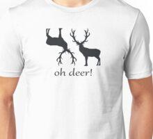 oh deer, oh deer Unisex T-Shirt