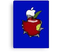Real Apple Canvas Print