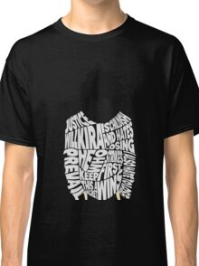 Death Note - L - Typography  Classic T-Shirt