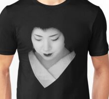 Geisha - grey scale Unisex T-Shirt