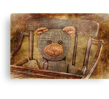 Vintage Teddy Canvas Print