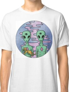 Alien Twins Classic T-Shirt