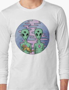 Alien Twins Long Sleeve T-Shirt