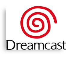 dreamcast logo Canvas Print