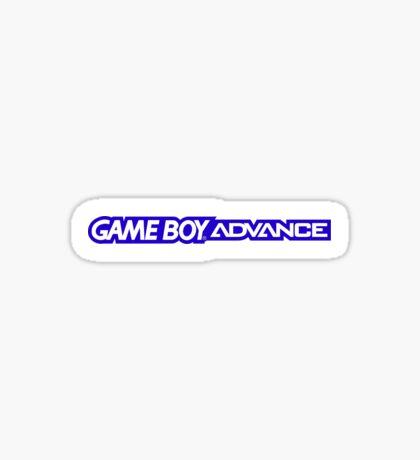 gameboy advance logo Sticker