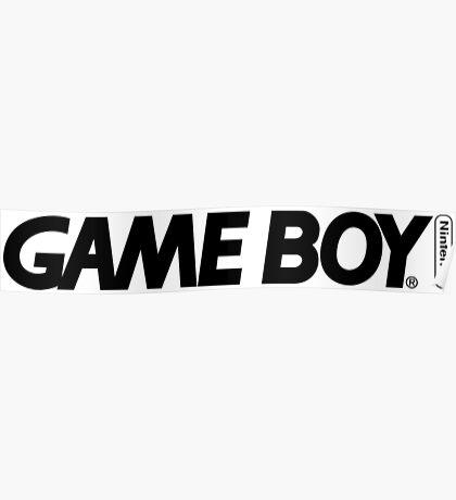gameboy logo Poster