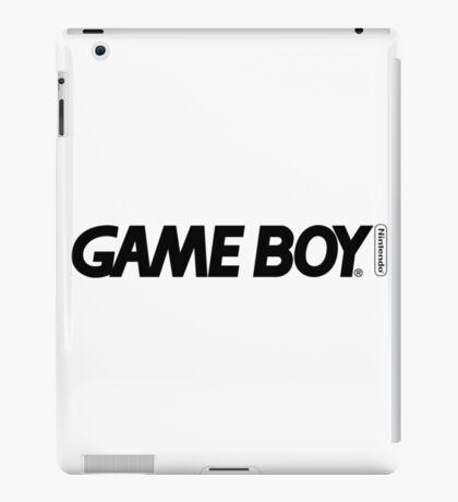 gameboy logo iPad Case/Skin