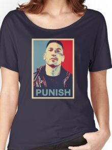 Punisher for President Women's Relaxed Fit T-Shirt