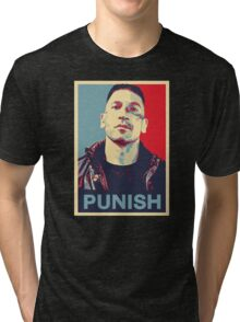 Punisher for President Tri-blend T-Shirt