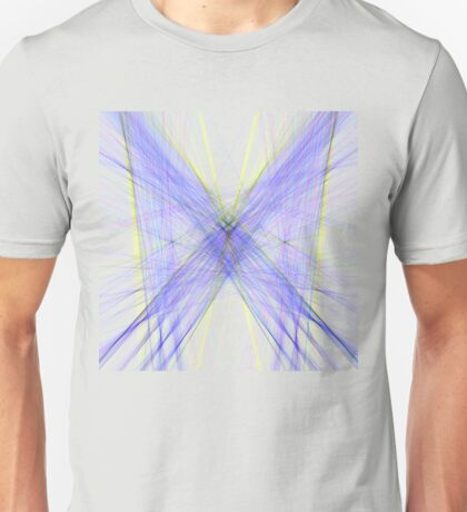 Violet Butterfly Unisex T-Shirt
