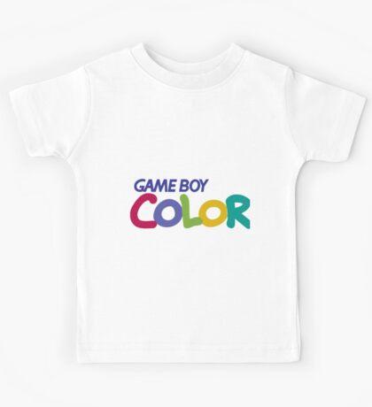 gameboy color logo Kids Tee