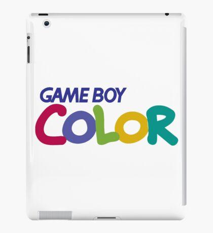 gameboy color logo iPad Case/Skin