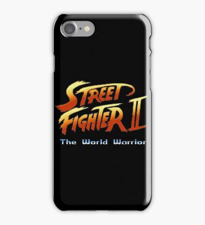 street fighters logo iPhone Case/Skin