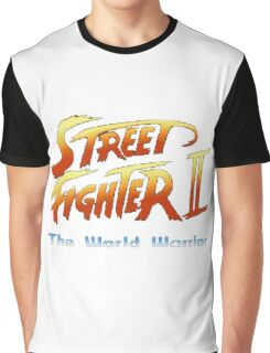 street fighters logo Graphic T-Shirt