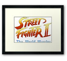 street fighters logo Framed Print