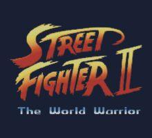 street fighters logo Kids Tee