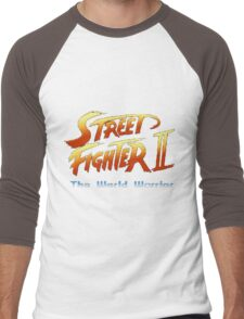 street fighters logo Men's Baseball ¾ T-Shirt