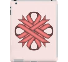 Pink Clover Ribbon iPad Case/Skin
