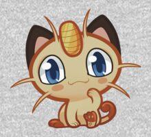 Meowth logo One Piece - Short Sleeve