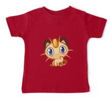 Meowth logo Baby Tee
