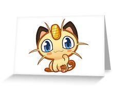 Meowth logo Greeting Card
