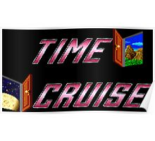Time Cruise (TurboGrafx-16 Title Screen) Poster