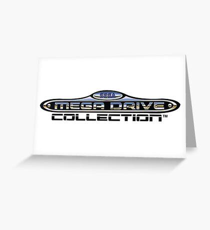 sega megadrive logo Greeting Card