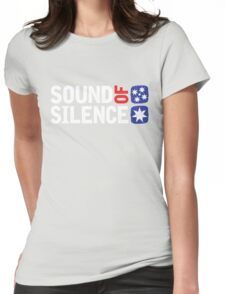 Dami In - Sound of Silence Womens Fitted T-Shirt