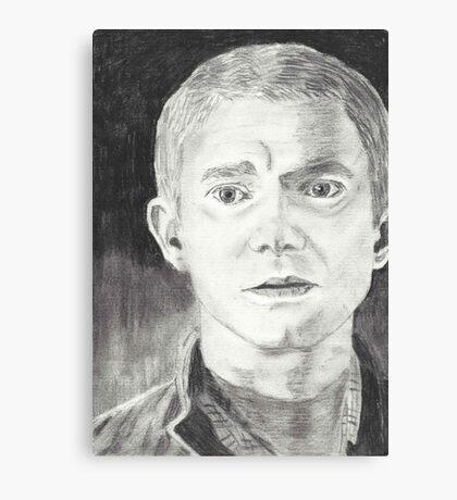 Martin Freeman as John Watson  Canvas Print