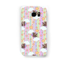 Rainbow Sloth Pattern Samsung Galaxy Case/Skin