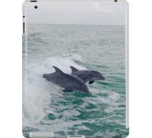 Dolphin's Surfing iPad Case/Skin